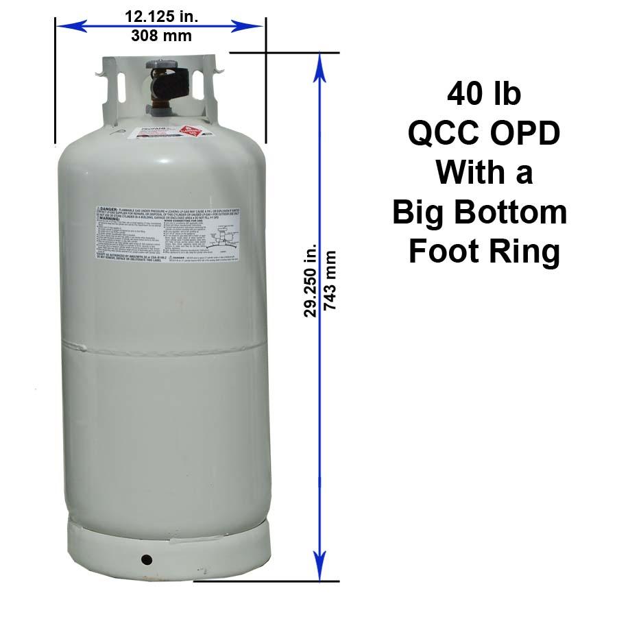 Propane Tank: Forklift Propane Tank Sizes